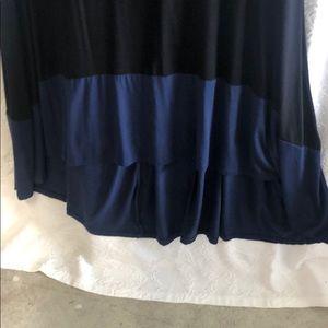 Style & Co Dresses - Plus size high low knit dress